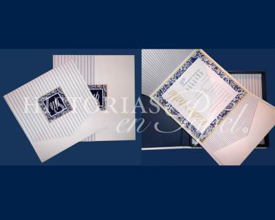 Caja Invitación para Boda 300C_NAUTICA