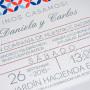 Invitaciones Modernas para Boda 230D