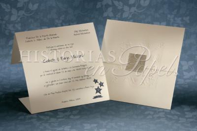 Invitaciones Rústicas y Playa para boda 46