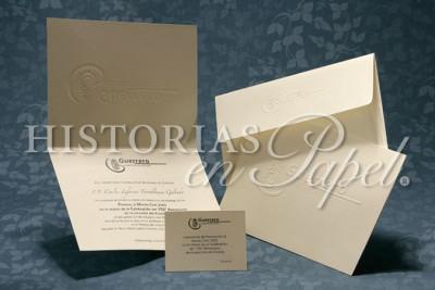 Invitaciones Comerciales sobre Diseño C12