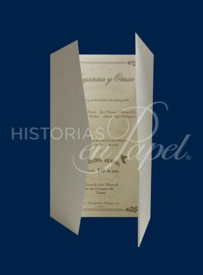 Invitaciones Vintage para Boda 245