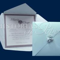 Invitaciones Vintage para Boda 400