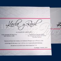 Invitaciones Románticas para Boda 77