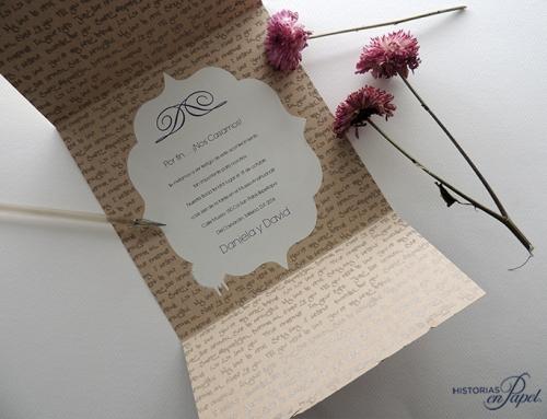 ¿Por qué una invitación de boda no es basura?