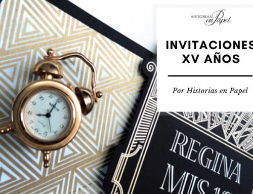 4 recomendaciones para invitaciones de XV años