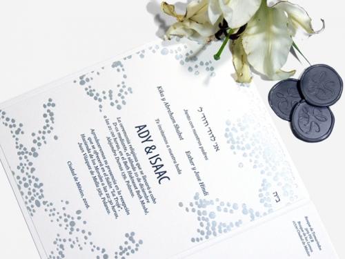 Invitaciones de boda judias